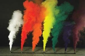 renkli sis bombası